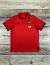 Manchester United 2014-2015 Nike Polo T-Shirt Soccer Jersey XL boys 13-15 years