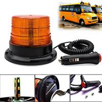 40 LED Car Roof Recovery Light Bar Amber Warning Strobe Flashing Beacon Magnetic