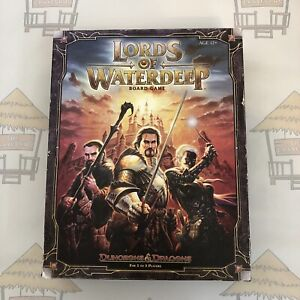Dungeons & Dragons Lords Of The Waterdeep Board Game