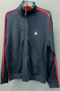 Original Penguin Men's Striped Track Jacket $125 Size M # 5C 1860 NEW