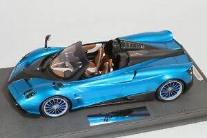 Pagani Huayra Roadster Blue Emperor BBR 1/18 - P18148D - NEW