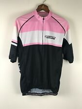 Capo Cycling Jersey Short Sleeve Shirt Size 3XL  Made in Italy NEW Full Zip