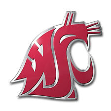 Washington State Cougars Auto or Hard Surface Emblem Decal NCAA Licensed