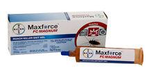 12 Tubes Maxforce Fc Magnum Cockroach German Roach Control Bait .05% Fipronil