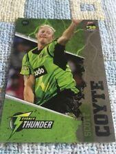 Sydney Thunder 2013 Season Cricket Trading Cards