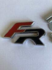 WANWU FR laterale emblema adesivo parafango in metallo per Seat Cupra Ibiza Leon