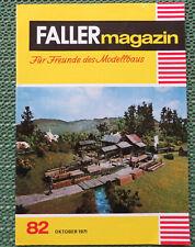 Faller AMS ---  Faller Magazin 82, Oktober 1971