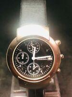Stylische 1990er SWEDA Chronograph 1/10 sec. Quartz HAU Neue BAT