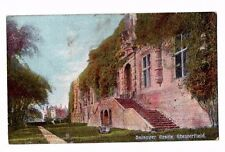 Derbyshire - Bolsover Castle - 1900's Postcard