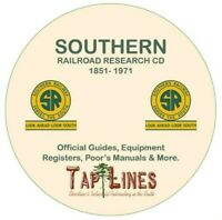 SOUTHERN RAILWAY - GUIDES & REGISTERS & HISTORICAL RESEARCH SCANNED TO DVD