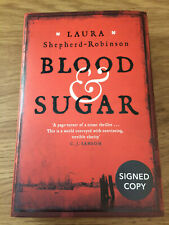 Blood And Sugar Laura Shepherd Robinson Signed Numbered Sprayed Edges 1/1 New Hb
