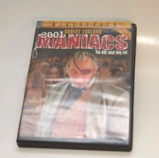 2001 Maniacs, You ARE What They Eat!  DVD, Robert Englund Cult Horror
