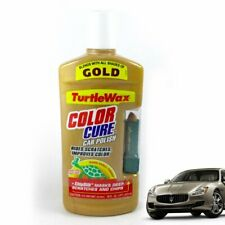 TURTLE WAX Color Cure CAR POLISH GOLD With ChipStick NEW 16 oz. 🚩DISCONTINUED🚩