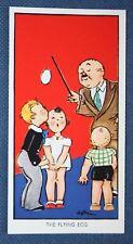 Magic  Flying Egg Trick   Superb Vintage Card