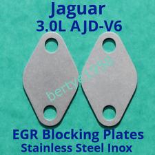 EGR Blanking Plates Jaguar XJ, XF 3.0L TDV6 TDVi Diesel AJD-V6 Engine