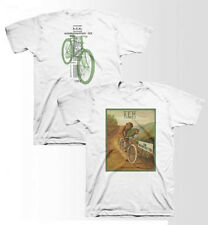 REM-Throwback Monkey Bicycle-1985 Tour-X-Large White T-shirt