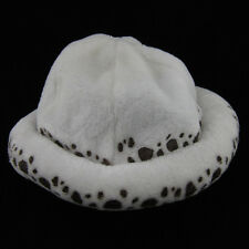New One piece Trafalgar Law Cosplay Fashion Hat Furry Plush Cap Costume Gift