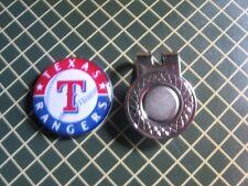 GOLF / Texas Rangers Logo Golf Ball Marker/with Magnet Hat Clip New!!