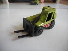 Matchbox Fork Lift Truck in Green