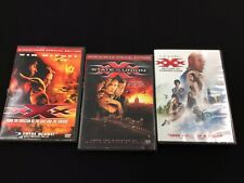 Xxx Dvd Trilogy Lot Ws Return of Xander Cage, State of Union Vin Diesel