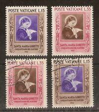 Vatican 1953 Goretti Mint & Used Cat£19