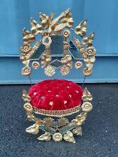 Garniture De Globe De Mariée Napoléon III XIX Eme Louis Xvi Globe