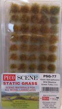 PECO Psg-77 Grass Tufts Wild Meadow 10mm Self Adhesive X100
