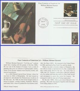 USA3 #3236i U/A MYSTIC FDC   American Art William Harnett