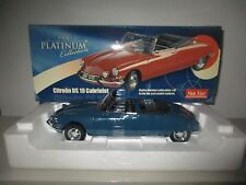 CITROEN DS19 CABRIOLET THE PLATINUM COLLECTION N.4742 SUN STAR SCALA 1:18
