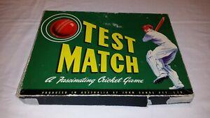 Vintage Test Match A Fascinating Cricket Game John Sands Australia