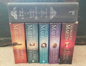 Game Of Thrones Book Collection - all 7 books written to-date