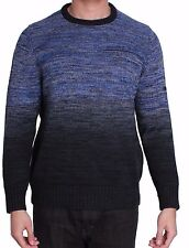 Tommy Bahama Men's 'Blue Isles' Crew Neck Sweater in Blue/Black Large NWT $128