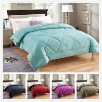 Premium Down Alternative Comforter All Season Reversible Comforter Ultra Soft