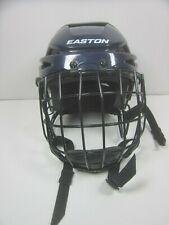 Easton E300 FM Hockey player Helmet small 6.5/8-7  BLUE