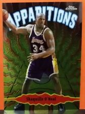 Shaquille O'Neal card Apparitions 98-99 Topps Chrome #A5