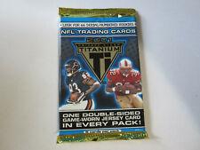 2001 Pacific Titanium Football Hobby Unopened Pack Drew Brees Rookie Year