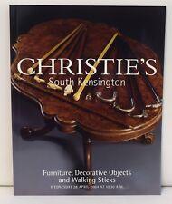 Christies 2004 Furniture Decorative Objects, Walking Sticks 1003