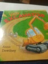 Little Excavator Paperback Book