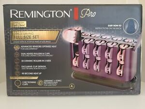 Remington Pro Hair Setter with Thermalux Advanced Thermal Technology, Purple