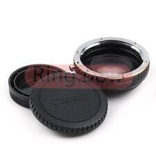 RIDUTTORE di focale SPEED BOOSTER Canon EOS Mount per EF micro quattro terzi LENS ADAPTER