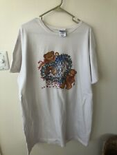 Single Stitch Lucy Rigg Bear Oversized Shirt Hanes Made in Usa Deadstock 1990