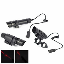 Hot Sale Tactical Red Dot Laser Sight Scope w/ 20mm Mounts Hunting Airsoft Guns