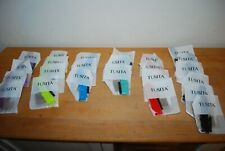 Joblot of 24 new Tusita Rubber/Silicon Watch Straps mixed colours and sizes