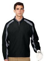 Tri-Mountain Men's Polyester Windproof Quarter Zip Golf  Winter T-Shirt. J2547