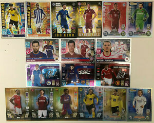 Match Attax 2021/22 21/22 Champions 100 clubs limited editions heritage & subset