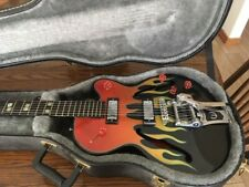 Epiphone Limited Edition Flamekat Electric Guitar with case, good used condition