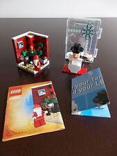 lego 3300002 Holiday Christmas Santa Set Fireplace Target Dog Complete minifig