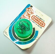 Vintage New Old Stock Duncan Yoyo Green Butterfly Unopened Package