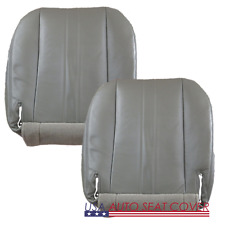 02-14 GMC Savana Standard-3 Door Passenger VAN-D-P-Bottom Vinyl seat cover GRAY