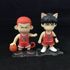 Slam Dunk Hanamichi Sakuragi Rukawa Kaede Cute Mini Figure 2PCS/set New In Box